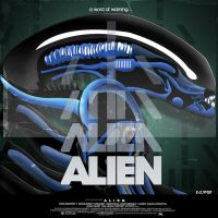 alien poster by R-Clifford
