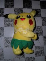 pikachu hawallano plush by xmorris33
