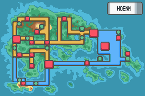 New Hoenn Map by Pokemon-Diamond