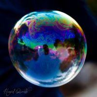 Rainbow Globe by HamidQureshi