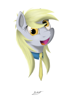 Just Another Regular Art With Derpy by markiz707