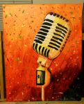 Microphone by Floraella