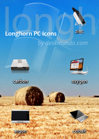 Longhorn PC Icons by deskmundo