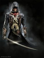 Arno by duskland