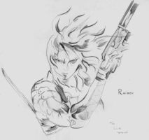 MGS Raiden Art by linkofholland