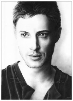 Jensen Ackles by Zindy