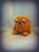 Jake The Dog Amigurumi by Ashler-Sauce