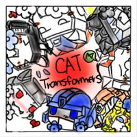Cat Transformers by Kakuyami