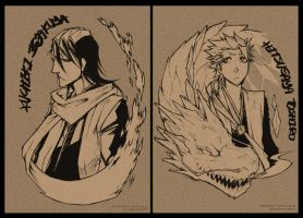 Bleach - NOTE BOOK COVER by pandabaka