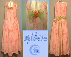 Little Flower Dress by Upon-a-RemStar