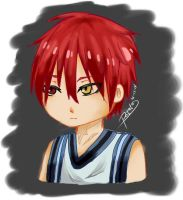 Akashi Seijuro Chibi by PotatoProject14