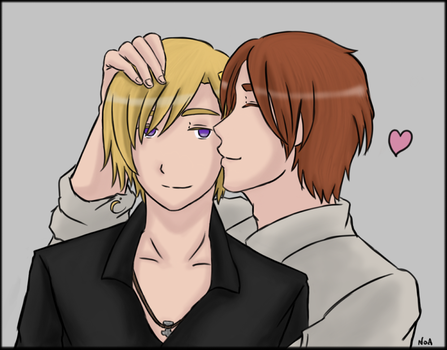 APH - Missing the Smile by Vamprincess-Noa