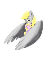 Derpy And Dinky Painting by mykittyjasper