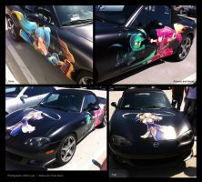 League of Legends Itasha by isangkutsarangmoe