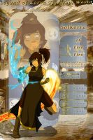 SolKorra OC Card Presentation by SolKorra