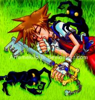 KH: Naptime by Artemekiia
