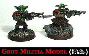 Grot Militia Model by Proiteus