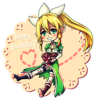 [Gift] Happy Birthday, Kumi! by GazeRei