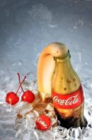 Coke on ice, cherries on the side by courey