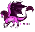 Amethyst's Dragoniss, Dragon Form by FantasyTwilight