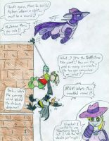 Batduck, Decoy and Mysterious-Mare-Do-Well by Jose-Ramiro