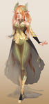 [OPEN] $35 | Elf Adoptable by Valkymie