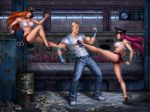 Final Fight - Poison and Roxy vs Cody by Candra
