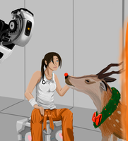 Portal Secret Santa by gabsters109