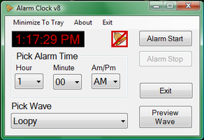 Alarm Clock v8 by brianmccumber