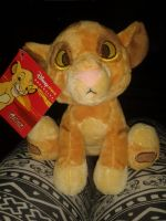 Tagged Disney Store Adorable Baby Simba Plush! by Daniellee14