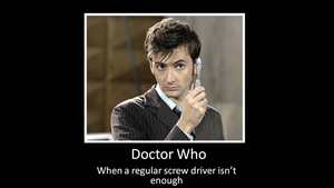 The Doctor's Sonic Screwdriver by bdaycrazy