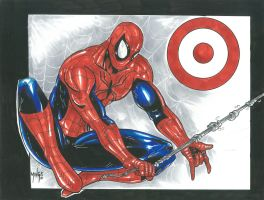 Spiderman on Target by familyman29