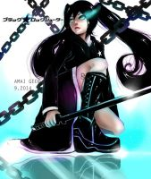 Black Rock Shooter by Amai-Gee