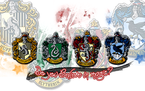 Four Magical Houses by DefyingGravityxoox