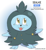 Pokemon Albion Region: #007 Sealkie by sweetkimothy