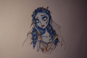 Corpse Bride by malootka