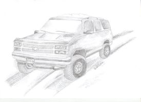 Chevrolet Tahoe by 666vlcina