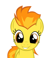 Request - Spitfire with her cutest face on. by J-Brony