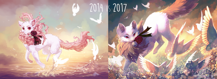 2014 v 2017 improvement by clockbirds