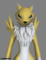 Renamon Project - Shape Test by lycanarius