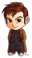 10th Doctor colored with Copics by alamedyang