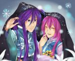 Winter Gaku and Luka by Mitsukiven