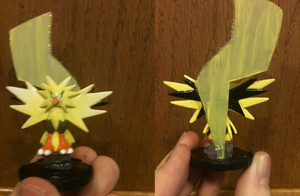 Zapdos Heroclix Custom by ComicMaster1
