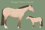 Rouge's Street Dancer by theRyanna