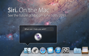 Siri. On the Mac. by osullivanluke