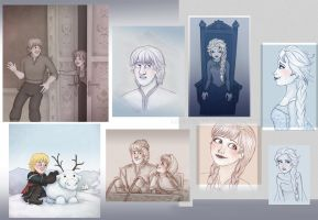 Frozen - random stuff 3 by Loony-Lucy