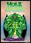 Hulk Splash by paperlab