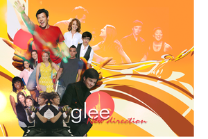 Glee Wallpaper by MugofCarmel