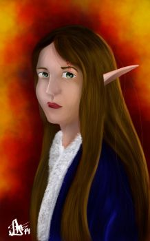 Elven Princess by AbstractDawn