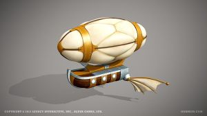 Airship by ogami3d